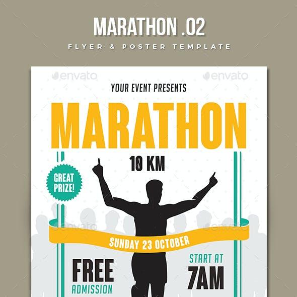 Marathon Event Flyer 2