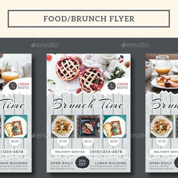 Food/Brunch Flyer
