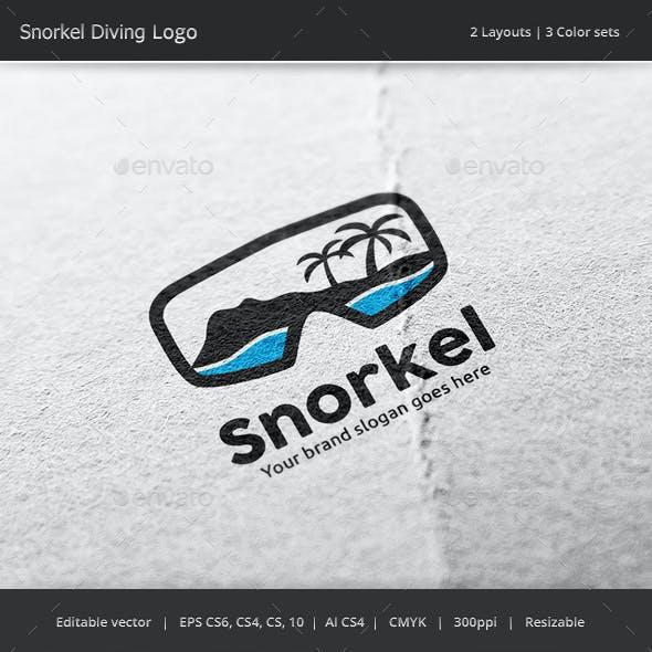 Snorkel Diving Logo