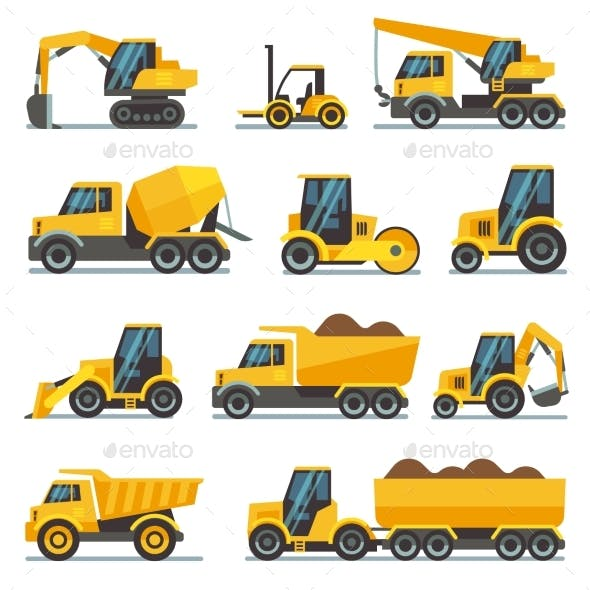 Industrial Construction Equipment and Machinery
