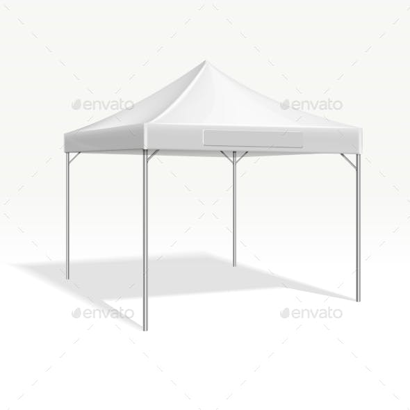 Mobile Marquee Tent for Trade Show