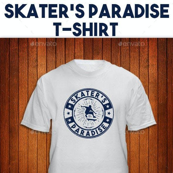Skater's Paradise T-shirt Design