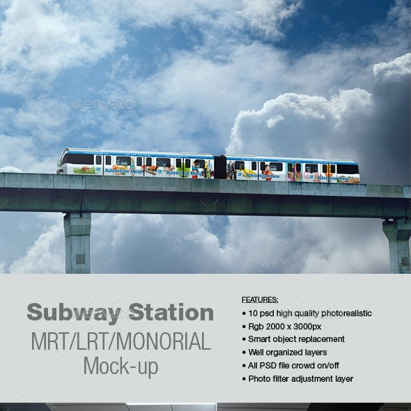 Subway Station Mock-up