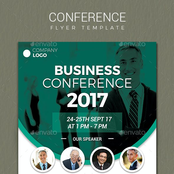 Conference Flyer by vynetta