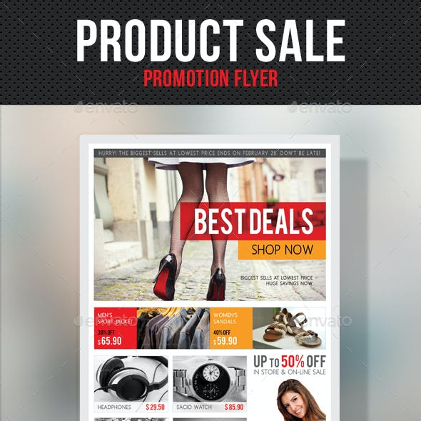 Product Sale Promotion Flyer V03