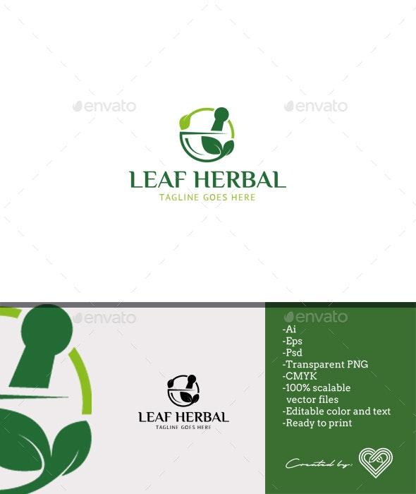 Leaf Herbal - Symbols Logo Templates