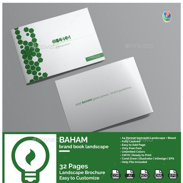 Baham - Brand Book Landscape