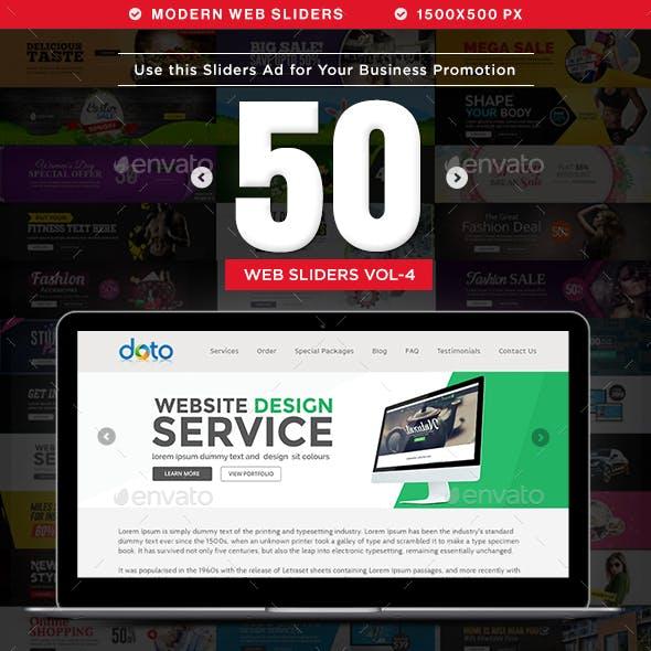 Multipurpose Web Sliders - 50 Designs