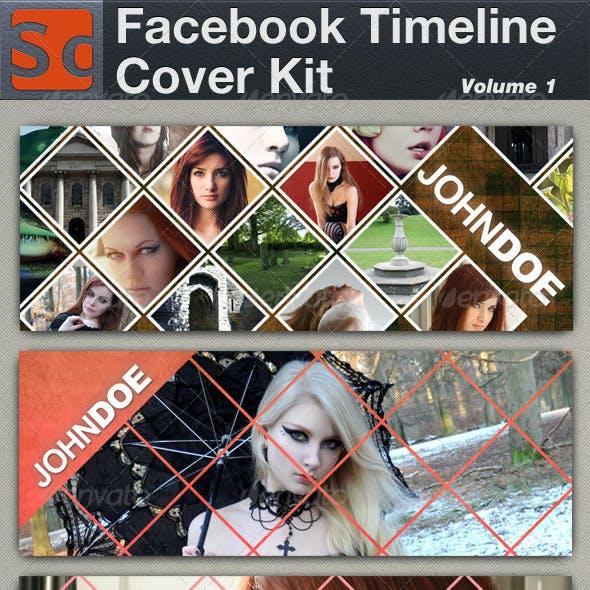 Facebook Timeline Cover Kit Volume 1