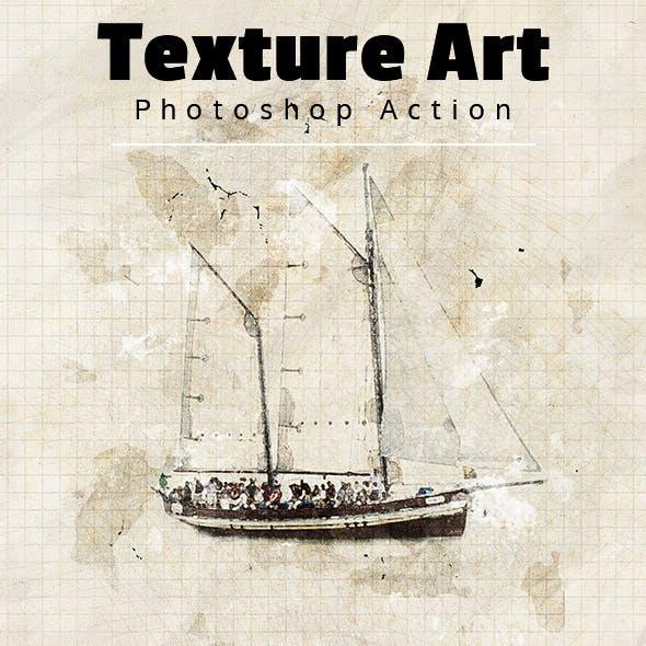 Texture Art Photoshop Action