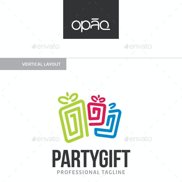 Party Gift Logo