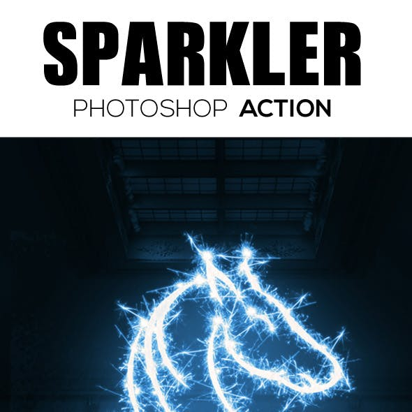 Sparkle Photoshop Action Free Graphics, Designs & Template