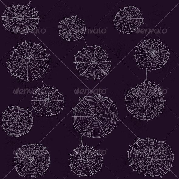 Spiderweb Pattern - Patterns Decorative