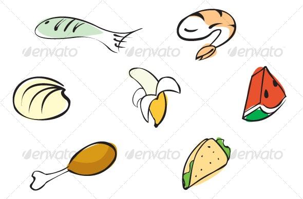 Food Set 1 - Food Objects