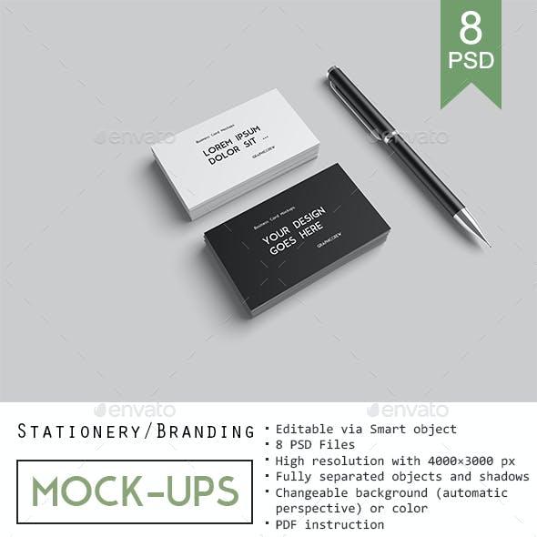 Stationery / Branding Mockups
