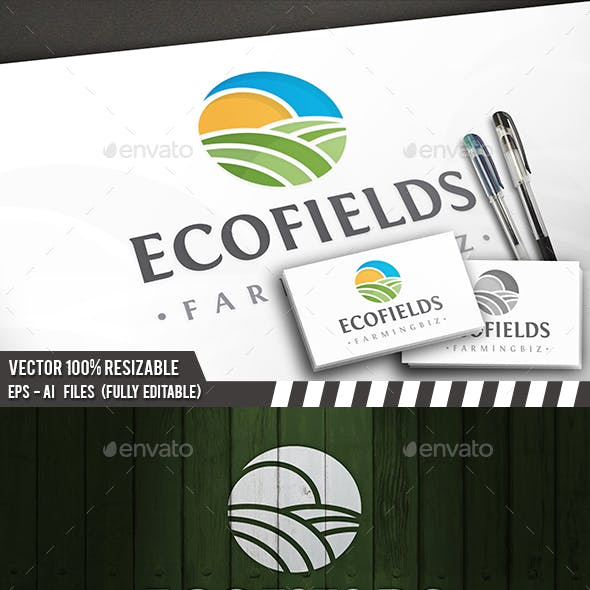 Eco Sun Field Logo
