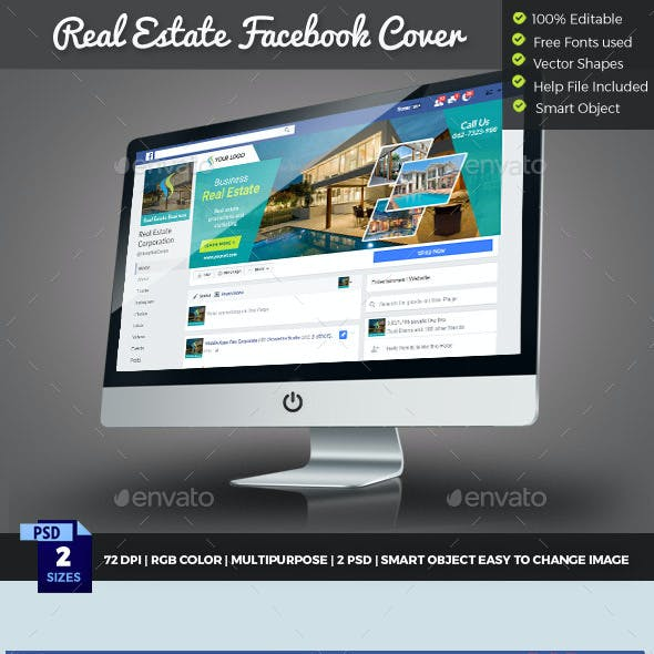 Real Estate Facebook Cover Timelline