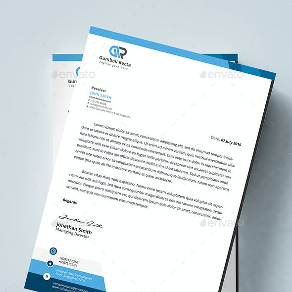 MS Word Letterhead