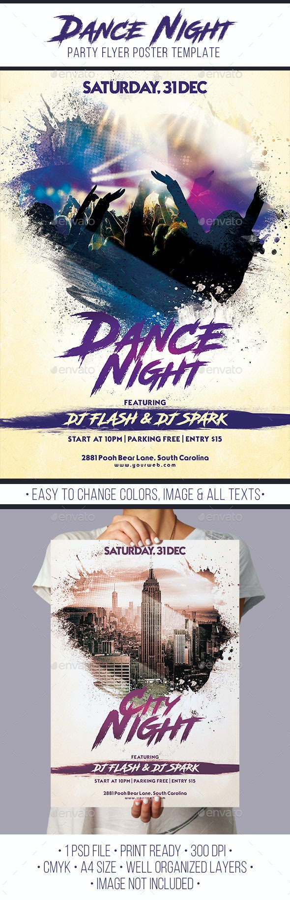 Dance Night - Clubs & Parties Events
