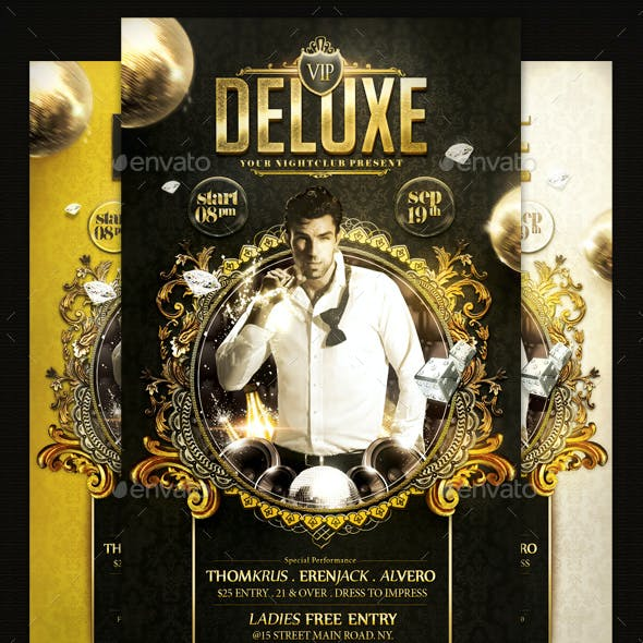 Deluxe V3 Flyer Template