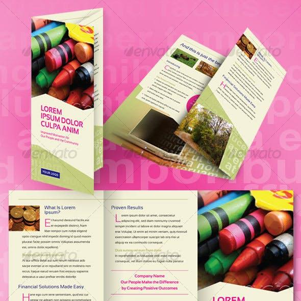 Financial Brochure Tri-Fold