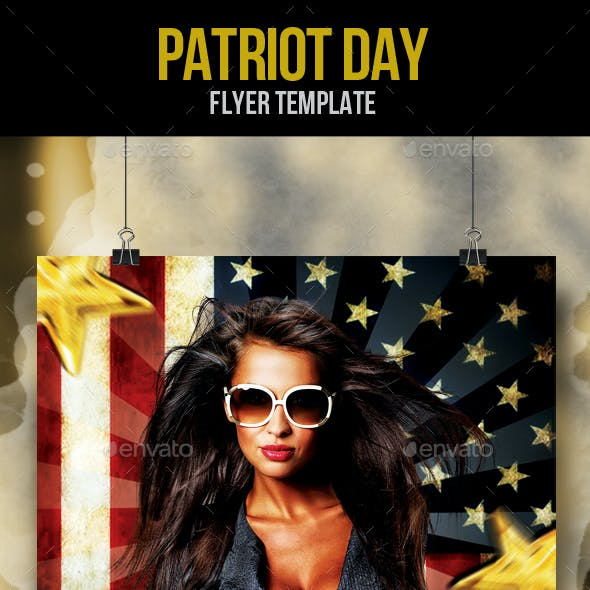 Patriot Day Flyer