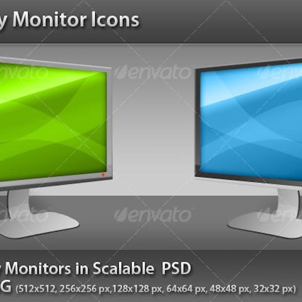 Glossy Monitor Icon