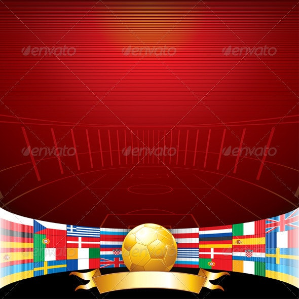 Football 2012 Background - Sports/Activity Conceptual