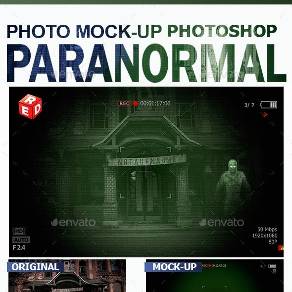 Paranormal Photo Mock-Up
