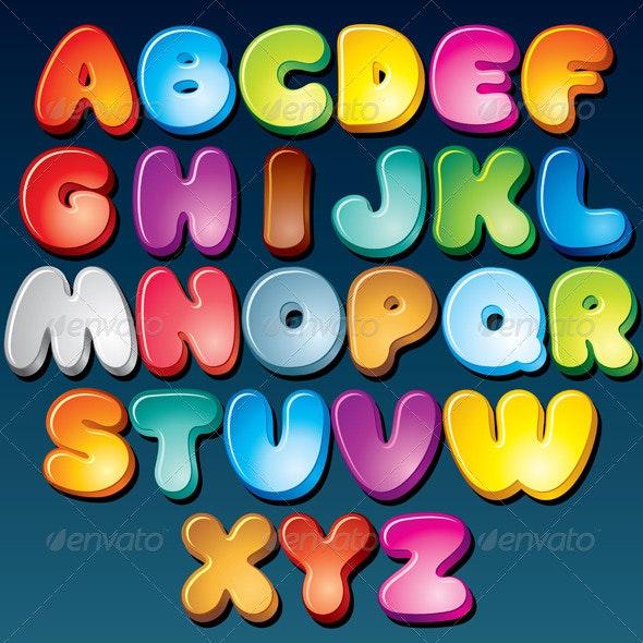 Funky Font - Decorative Symbols Decorative