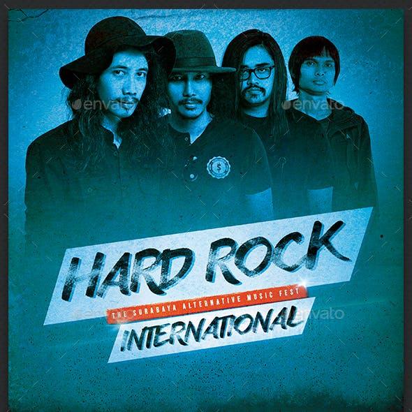 Grunge Rock Flyer