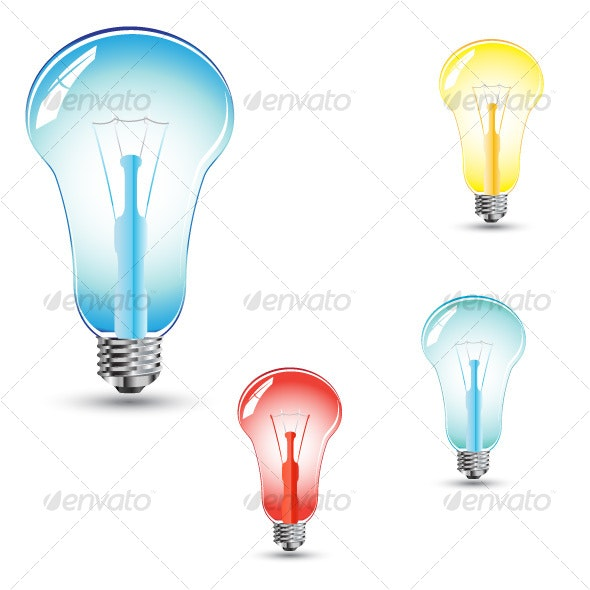 Electric lamps - Man-made Objects Objects