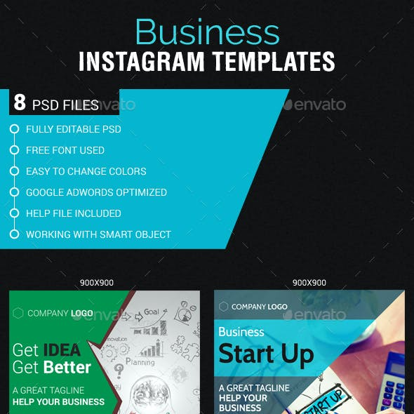 Business Instagram Templates