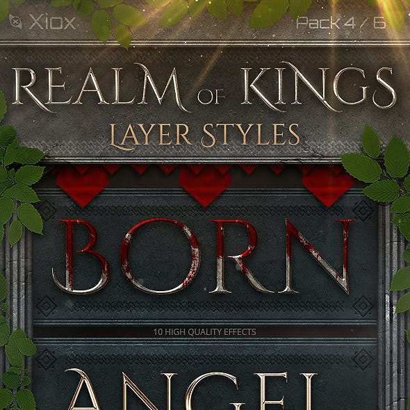 Realm of Kings - Style Pack 4 -
