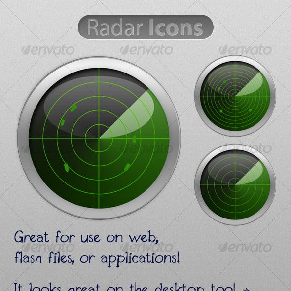 Shiny Radar Icon