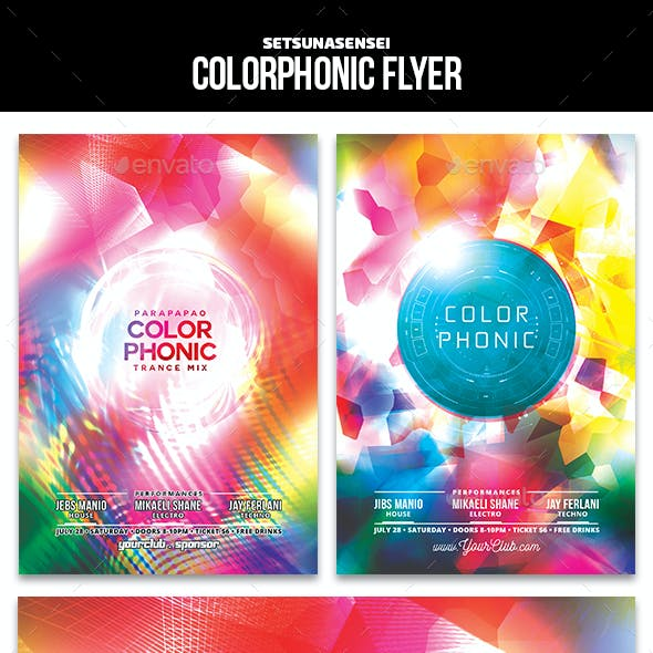 Colorphonic Flyer