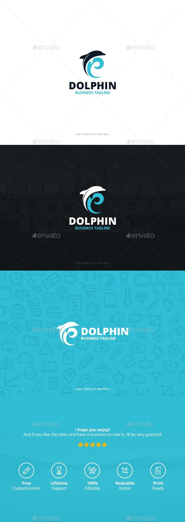 Dolphin Logo - Logo Templates