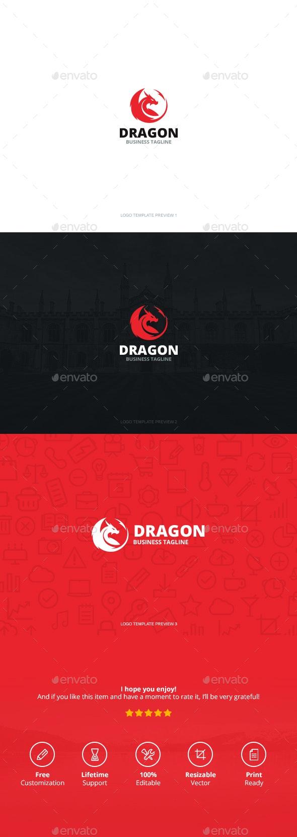 Dragon Logo - Logo Templates