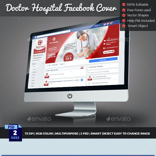 Medical Doctor Facebook Cover Timeline
