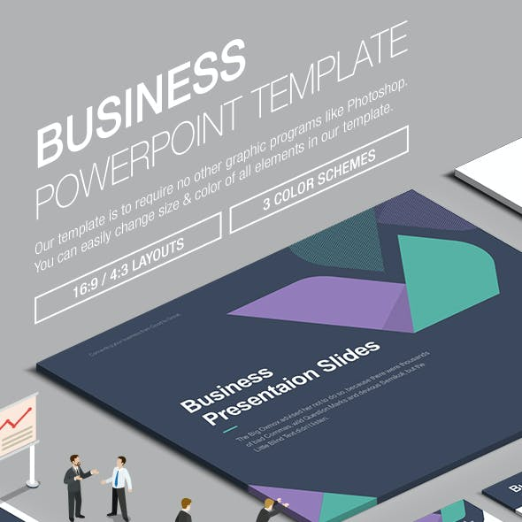 Business Powerpoint Template 005