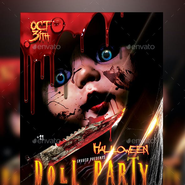 Halloween Doll Party