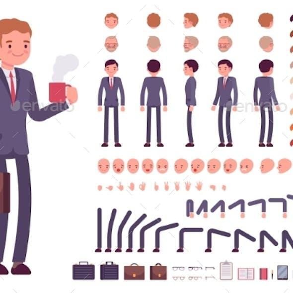 Businessman Character Creation Set