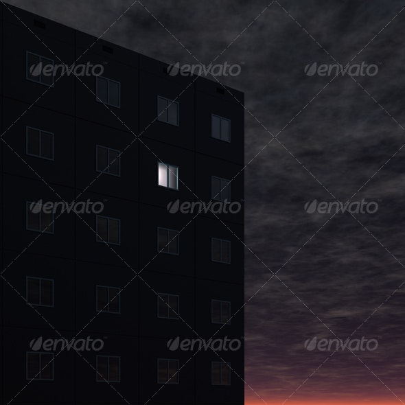 Night Life Insomnia  - Abstract 3D Renders