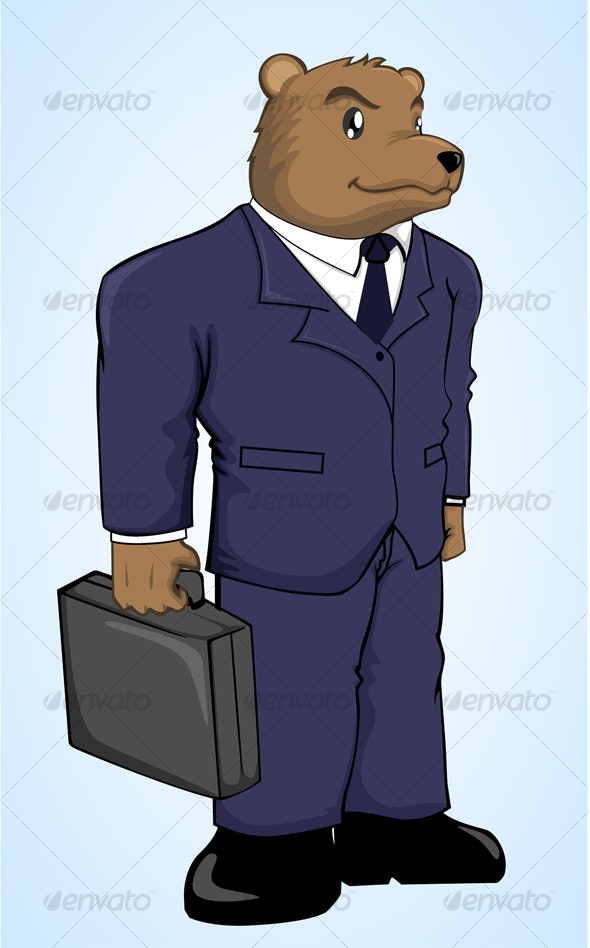 Mr Bear - Animals Characters