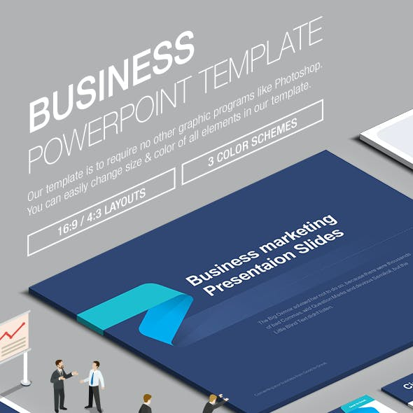 Business Powerpoint Template 006