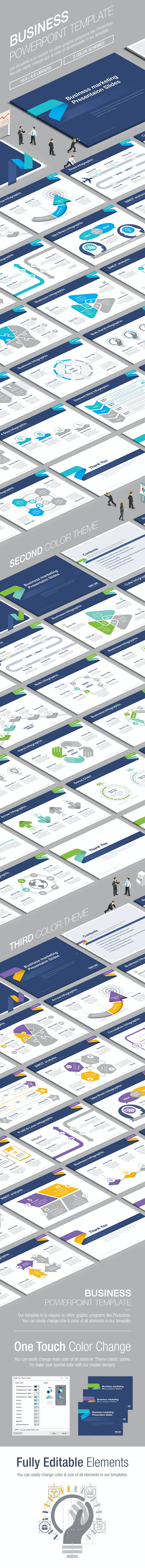 Business Powerpoint Template 006 - Business PowerPoint Templates