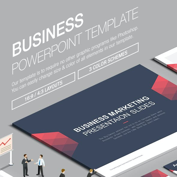 Business Powerpoint Template 007