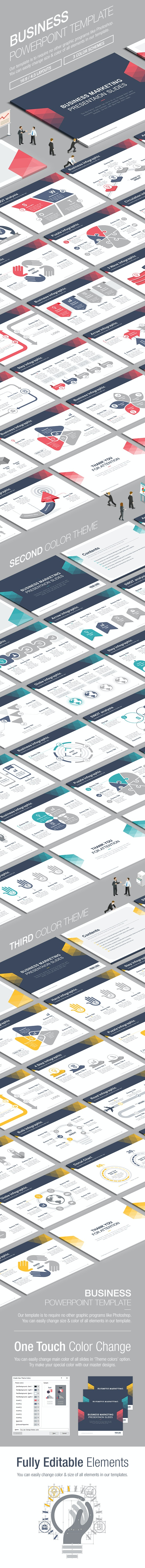 Business Powerpoint Template 007 - Business PowerPoint Templates