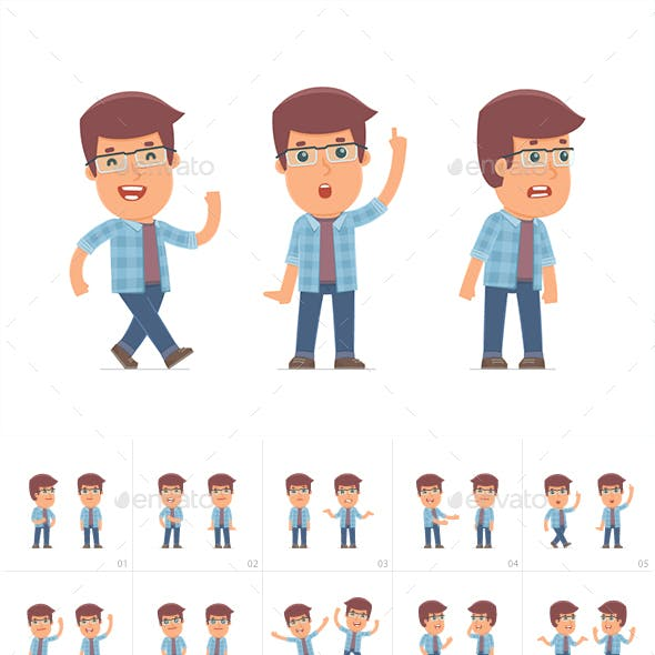 100 Poses of Character Freelancer