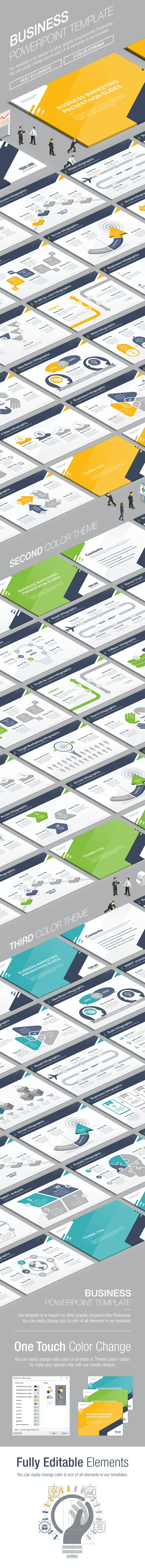 Business Powerpoint Template 009 - Business PowerPoint Templates